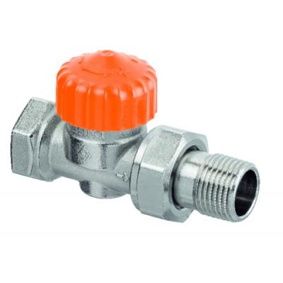 Thermostatic radiator valve body Eclipse straight DN20 3/4 - IMI HYDRONIC : 3462-03.000