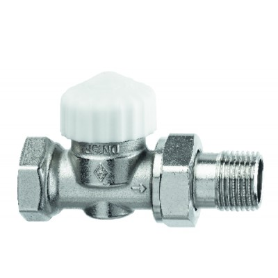 Standard thermostatic radiator valve body Calypso Exact straight DN20 3/4 - IMI HYDRONIC : 3452-03.000