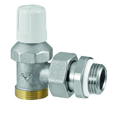 Angle radiator valves male 3/8 RFS (built-in seal on connector) (X 10) - RBM : 290300