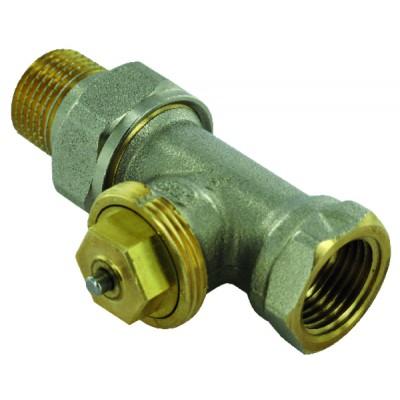 Convertible straight radiator valves F 3/4 (X 10) - COMAP : R809606