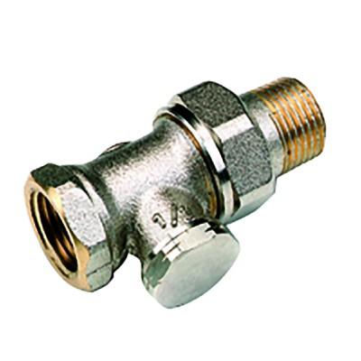 Straight radiator valves F 3/8 (X 10) - COMAP : 429303
