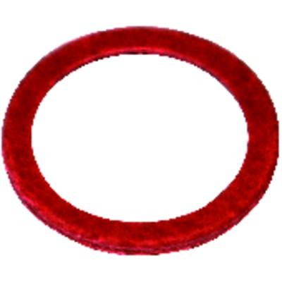 """Junta de fibra roja 20/27 - 3/4""""  (X 50)"""