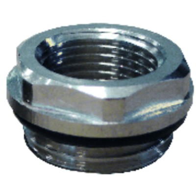 """Reducer fitting with nipple M1/2"""" x F1/8"""" (X 10)"""