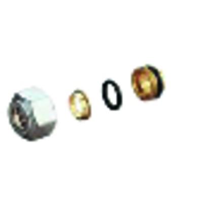 Adaptador tubo de cobro R178 18x14 - GIACOMINI : R178X033