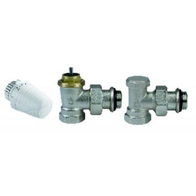 Kit for radiator equipment 3/8 bracket valve