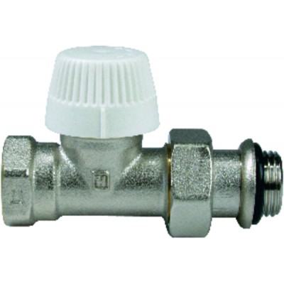 """Straight threaded thermostatic body, double setting 1/2"""""""