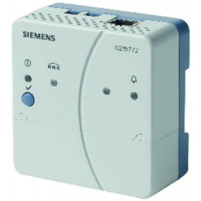 Web server for 4 Synco devices - SIEMENS : OZW772.04