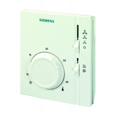 Ambient thermostat vc 2t heat/cold - SIEMENS : RAB11