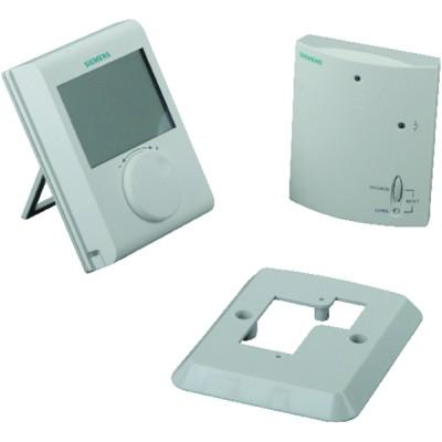 Thermostat sans fil radio à piles - SIEMENS : RDH100RF/SET