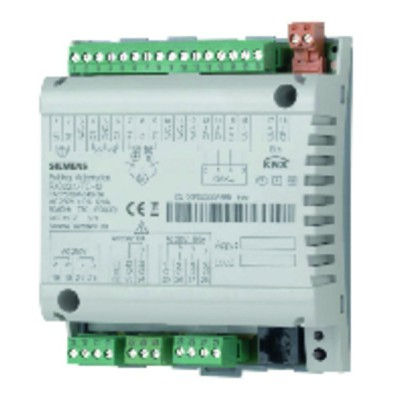 Room controller with 3-speed fan and electric heating coil - SIEMENS : RXB22.1/FC-12