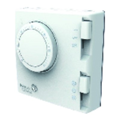 Room thermostat  2 pipes 3 speeds On/Off Summer/Winter - JOHNSON CONTR.E : T125BAC-JS0-E