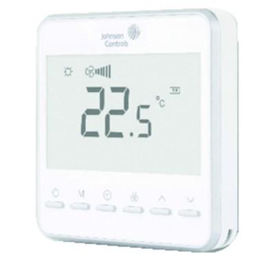 Termostato unidad terminal -5°C/+35°C Display LCD - JOHNSON CONTR.E : T7600-TF20-9JS0