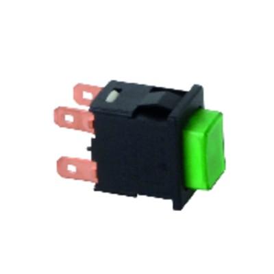 Bouton pouss. 13x19 vert l4 - CHAPPEE : V15804542