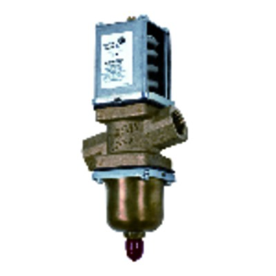 Pressure-actuated municipal water valve 2v Kv: 6.5 threaded - JOHNSON CONTR.E : V46AD-9511