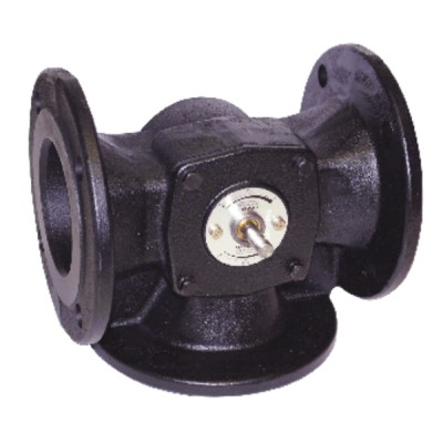 3 way sector valve, with flange - SIEMENS : VBF21.65