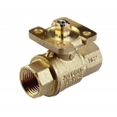 Threaded 2-way ball valve PN40 - JOHNSON CONTR.E : VG1205ER