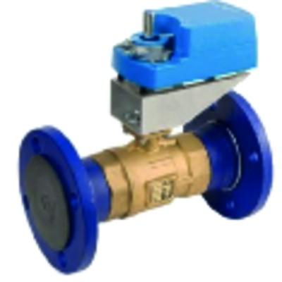 Flanged 2-way ball valve PN16 - JOHNSON CONTR.E : VG12E5GU
