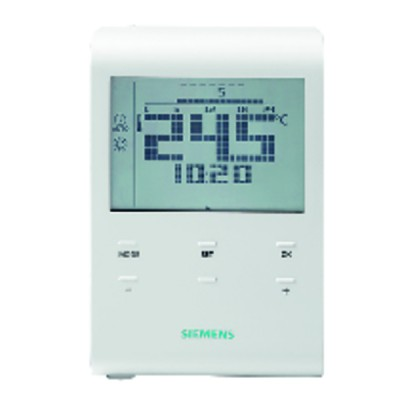 Room prog thermostat with batteries - SIEMENS : RDE100.1