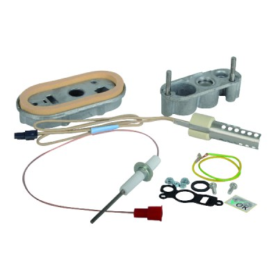 Set of ignition/ ionization electrode - BOSCH THERMOTECH : 7736700318