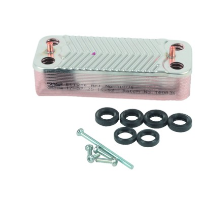Heat Exchanger 16 plates - DIFF for Ideal : 173544