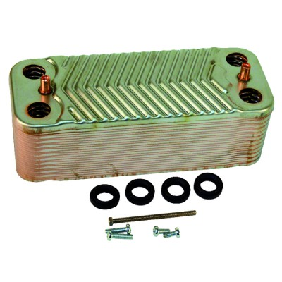 Heat exchanger 24 plates - DIFF for Ideal : 173545