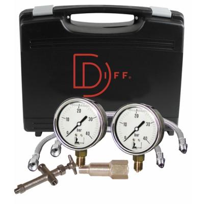 Koffer Öldruck Inbetriebnahme Heizöl  - DIFF