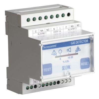 Central 1 vía Tipo SE 139K - TECNOCONTROL : SE139K