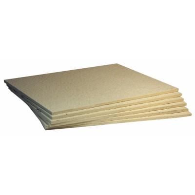 Feuerfester Stoff Platte 607 (0,5m x 0,4m x 10mm)   (X 6)