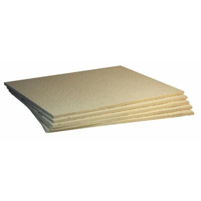 Feuerfester Stoff Platte 607 (0,5m x 0,4m x 25mm)   (X 6)
