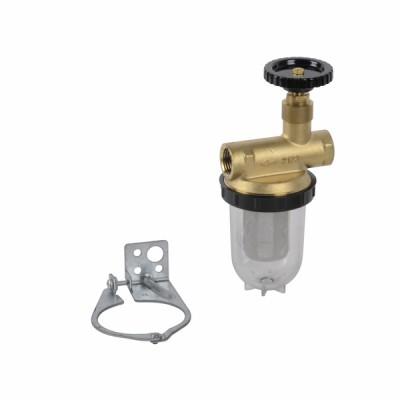 "Filtro para fueloil HH 1/2"" niquelado - OVENTROP : 2123104"