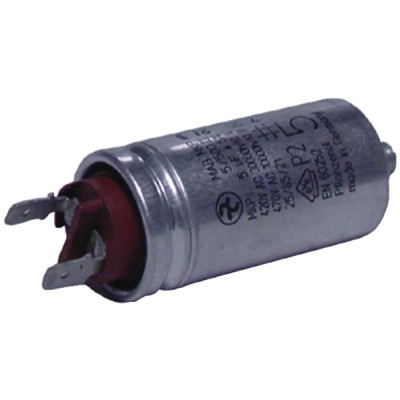 Kondensator 5µF  - DIFF für Weishaupt: 713124
