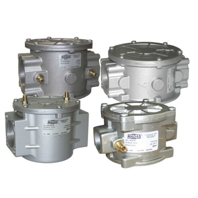 "Gas filter type fg03 with pressure plug ff3/4"" - MADAS : FM03 D50"