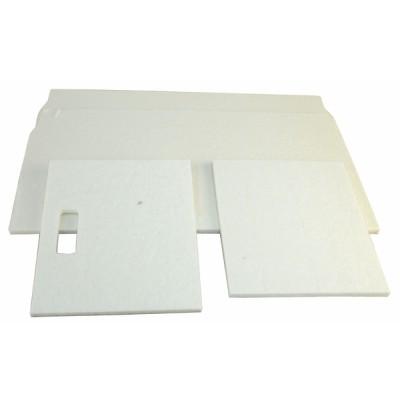 Aislante placa cerámica (funda)  - CHAFFOTEAUX : 61307039