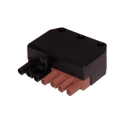 Connector male 7 poles  - DIFF : 803020