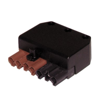 Connector female 7 poles  - DIFF : 803021
