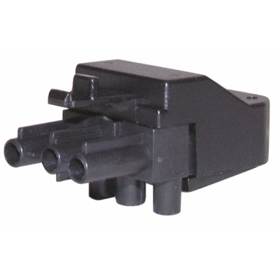 Male connector 3 poles  - DIFF : 803050