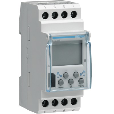 Horloge hebdomadaire digitale EG203B - DIFF