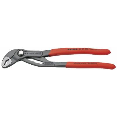 KNIPEX Cobra® Hightech-Wasserpumpenzange, Länge 250 mm - KNIPEX - WERK: 87 01 250