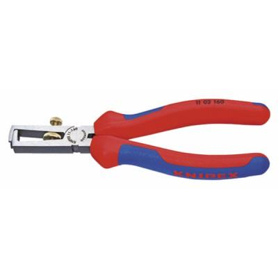 Pince à dénuder 10mm² - KNIPEX - WERK : 11 02 160