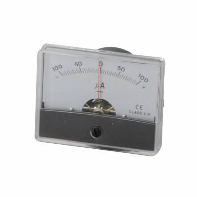 Micro-ampèremètre à encastrer -100 à 100µA - DIFF