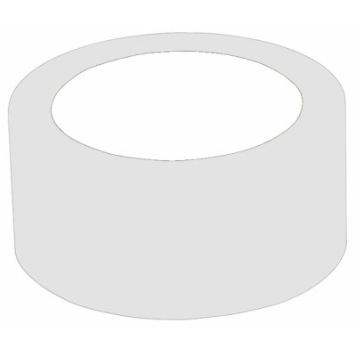 Klebeband Klebeband PVC weiß (50mm x 33m)  - DIFF