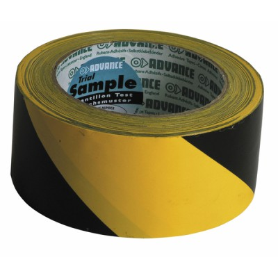 Klebeband Markierung gelb/schwarz (50mm x 33m)  - DIFF