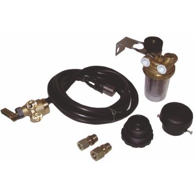 Zisternenzubehör Kombi-Set für Saugung Typ COMBIDIFF für Becken - DIFF