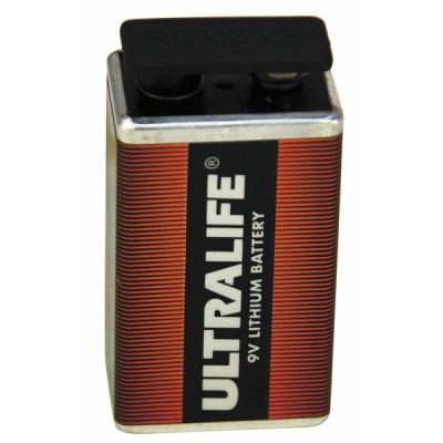 Pile lithium LR61 9V - DIFF