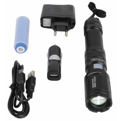 Rechargeable LED flashlight torch - DIFF