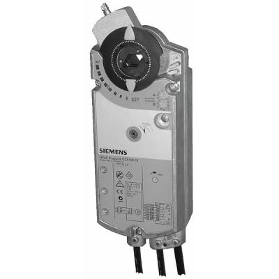 Rotary air damper actuator OpenAir 18Nm 0...10V - 24V - SIEMENS : GCA166.1E