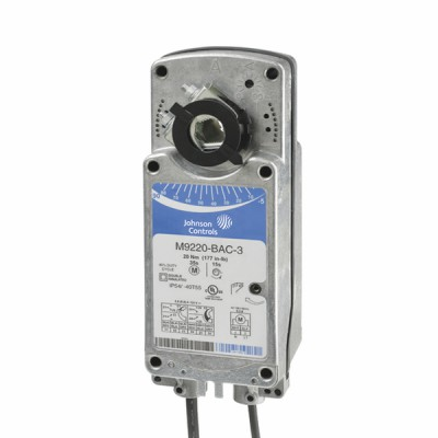 Spring return rotary actuator (vg10e5/vfb) 20Nm - JOHNSON CONTR.E : M9220-HGC-1