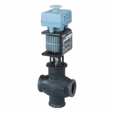 "Magnetic valve, external thread, DN20 kvs 5 G 1 1/4"" 24Vac - SIEMENS : MXG461.20-5.0"