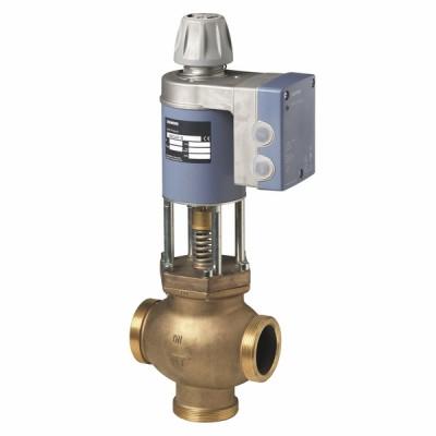 Magnetic valve, domestic hot water DN40 kvs 20m³/h - SIEMENS : MXG461B40-20