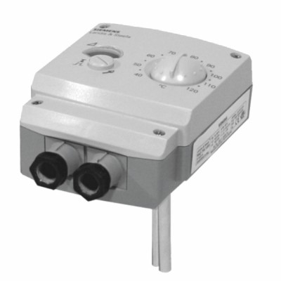 Thermostat réglage/sécurité 15...95°C/110...130°C - IP40 - SIEMENS : RAZ-ST.1500P-J